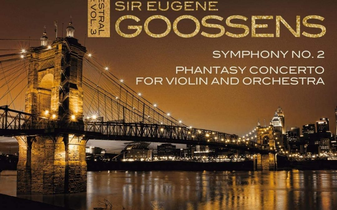 Chandos releases Eugene Goossens from Melbourne