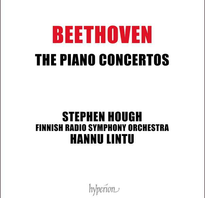 Beethoven 250 – Stephen Hough records the Five Piano Concertos | Hannu Lintu conducts [Hyperion]