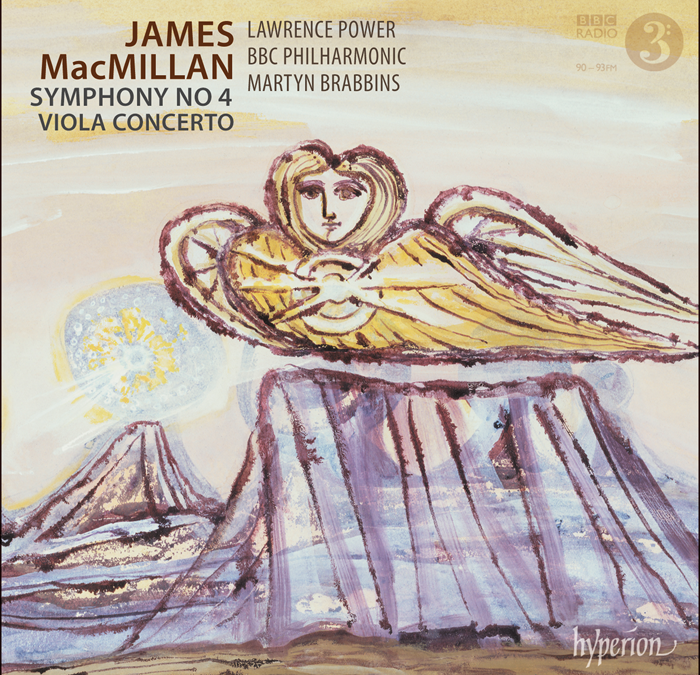 RELEASED TODAY, MAY 29 … Martyn Brabbins records James MacMillan – Symphony 4 and, with Lawrence Power, Viola Concerto [Hyperion]