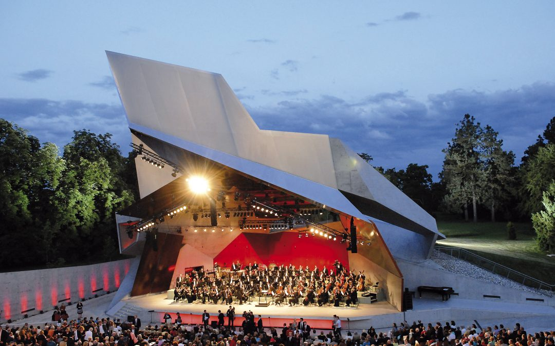 Austria's Grafenegg Festival Goes Ahead as Scheduled, Live, August 14-September 6.