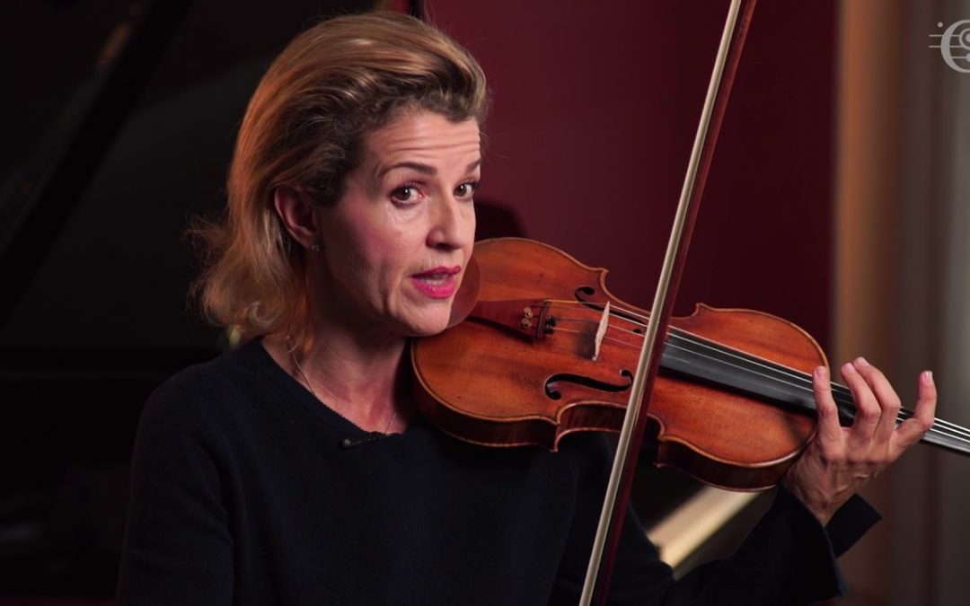 Many Happy Returns to Anne-Sophie Mutter, 57 today.