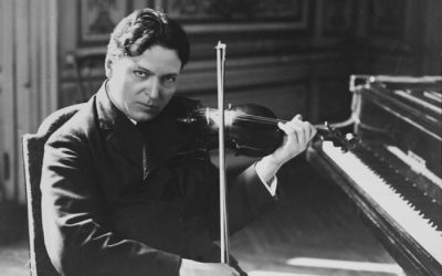Let's lighten the mood and scintillate to Celibidache conducting Enescu's First Romanian Rhapsody: now republished as a regular tonic.