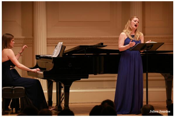 Lucy Crowe & Anna Tilbrook @ Wigmore Hall – Hope and Longing – Live on BBC Radio 3 and in HD video.