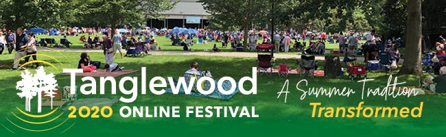 Newly announced programming for Tanglewood 2020 Online Festival.