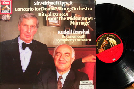 From the Anderson Archive – No.6 – Rudolf Barshai records Michael Tippett with the Bournemouth Symphony Orchestra for EMI/HMV.