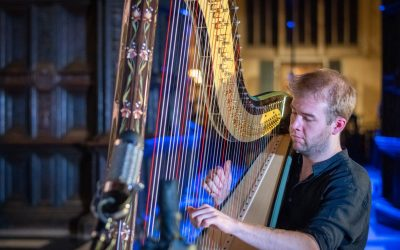 King's College Cambridge (UK) announces new recording of BACH'S GOLDBERG VARIATIONS, arranged for harp by outstanding young American musician Parker Ramsay   Available 18 September 2020.
