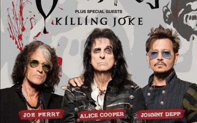 Hollywood Vampires – Alice Cooper, Joe Perry and Johnny Depp announce 2021 UK tour, feat. Killing Joke.