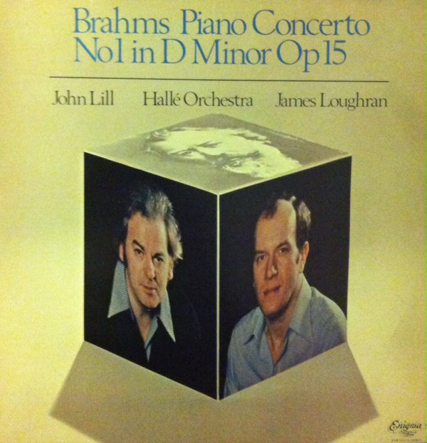 From the Anderson Archive – No.1 – John Lill records Brahms's First Piano Concerto with the Hallé conducted by James Loughran.