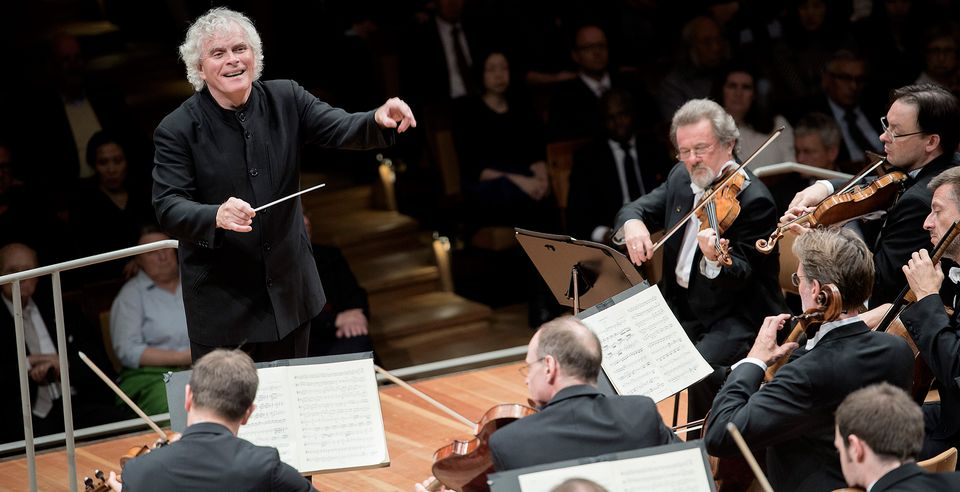 BBC Proms 2020 – Berliner Philharmoniker – Sir Simon Rattle conducts Rachmaninov's Symphonic Dances & Stravinsky's Firebird.