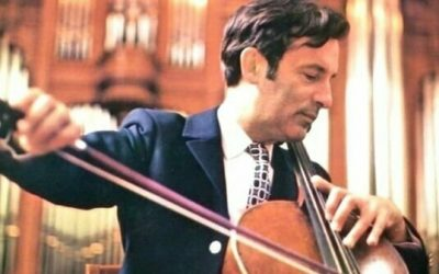Daniil Shafran (1923-97) plays Dvořák's Cello Concerto with Vienna Symphony Orchestra conducted by Carlo Maria Giulini (recorded in either 1973 or 1978!).