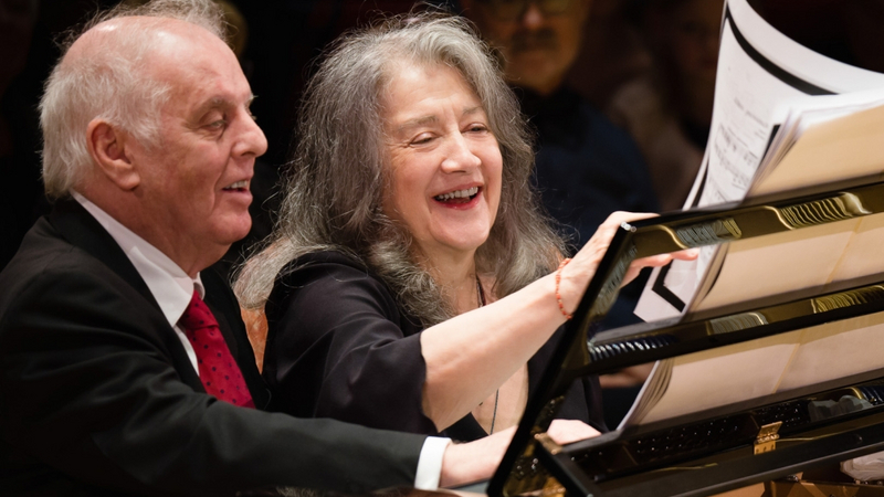 BBC Proms 2020 – West-Eastern Divan Orchestra with Daniel Barenboim & Martha Argerich.