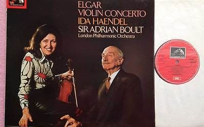 From the Anderson Archive – No.9 – Ida Haendel records Elgar's Violin Concerto with Sir Adrian Boult and the London Philharmonic for EMI/HMV.