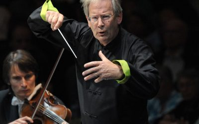 Many Happy Returns to Sir John Eliot Gardiner, 77 today.