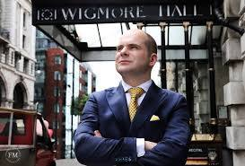 Many Happy Returns to John Gilhooly – Wigmore Hall's Chief Executive & Artistic Director – 47 today.