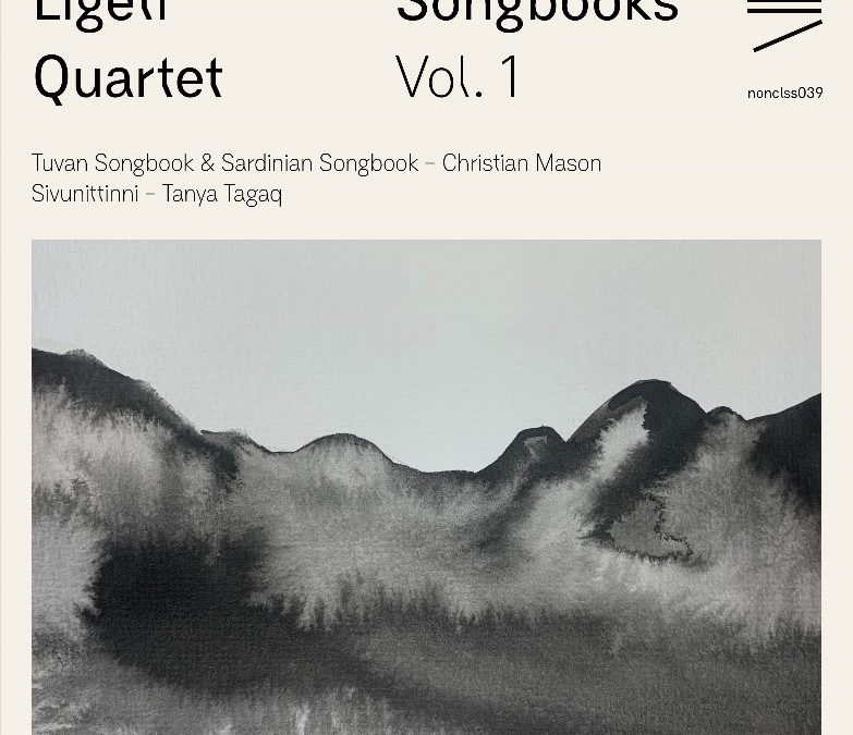 nonclassical release Songbooks inspired by traditional overtone singing from around the world, available October 9.