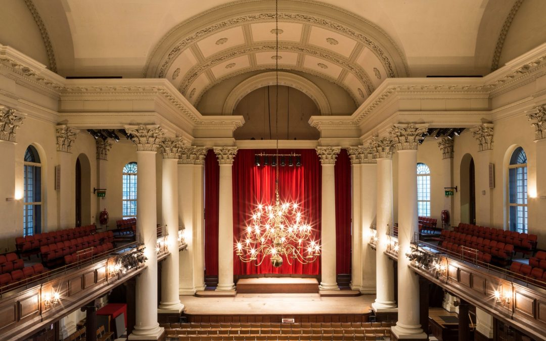 St John's Smith Square – The return of public concerts to a socially distanced audience.