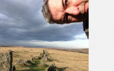 A journey to Exmoor. A love triangle. A near-death experience. A lecture in geology. An opera. All played out in mid-air.