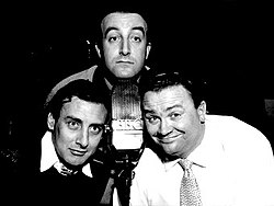 Just heard this on The Goon Show [BBC Radio 4 Extra, midday broadcast]