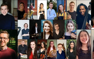 LONDON PHILHARMONIC ORCHESTRA CONTINUES GROUND-BREAKING MENTORING AND PROFESSIONAL DEVELOPMENT SCHEMES FOR YOUNG ARTISTS AND COMPOSERS.