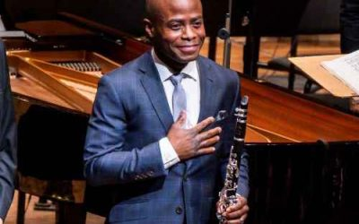 New York Philharmonic Principal Clarinet Anthony McGill Awarded 2020 Avery Fisher Prize.