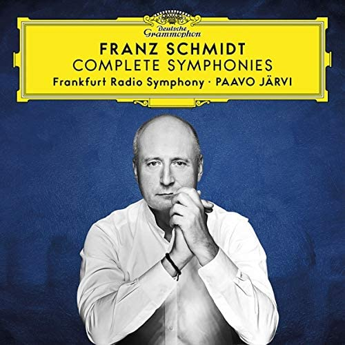 Paavo Järvi records Franz Schmidt's Four Symphonies in Frankfurt for Deutsche Grammophon.