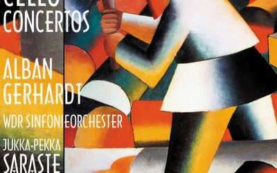 Alban Gerhardt records Shostakovich's Cello Concertos for Hyperion | Jukka-Pekka Saraste conducts.