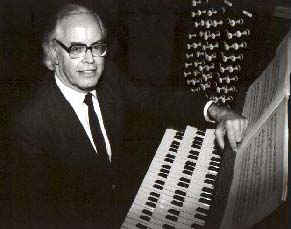 Many Happy Returns to organist & composer Arthur Wills, 94 today.