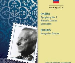 Eloquence collects Hans Schmidt-Isserstedt's recordings of Brahms & Dvořák.