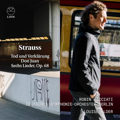 Robin Ticciati & Louise Alder record Richard Strauss in Berlin for Linn.