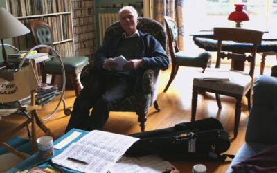 Many Happy Returns to composer Robin Holloway, 77 today.