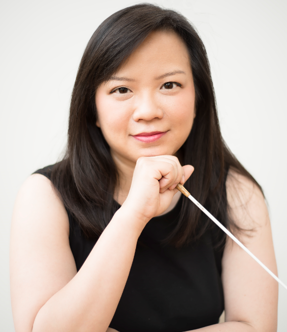 Rebecca Tong, winner of La Maestra competition, makes Royal Liverpool Philharmonic Orchestra debut.
