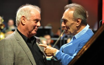 Many Happy Returns to Daniel Barenboim, 78 today.