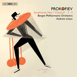 Andrew Litton and the Bergen Philharmonic record Prokofiev's first three Symphonies for BIS.