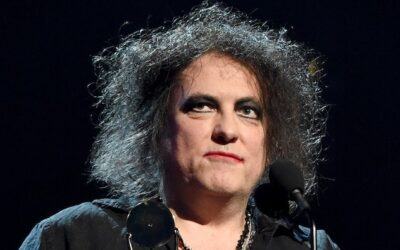 The Cure frontman Robert Smith donates piece of original art to Heart Research UK auction.