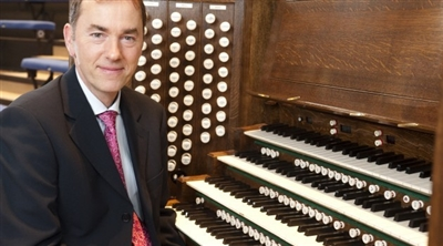 Organist Thomas Trotter is the latest recipient of The Queen's Medal for Music.