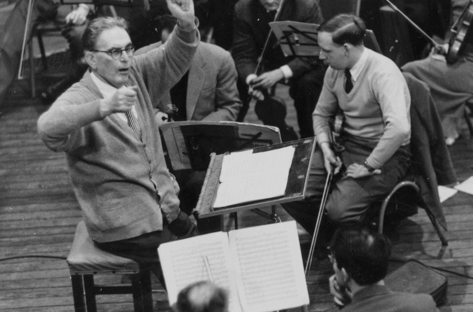As Beethoven 250 year nears its conclusion, here are Otto Klemperer & the Philharmonia Orchestra in the Eroica, Vienna, May 1960…