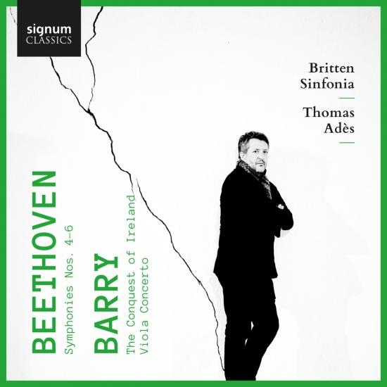 Thomas Adès records Beethoven & Barry for Signum, Volume Two.