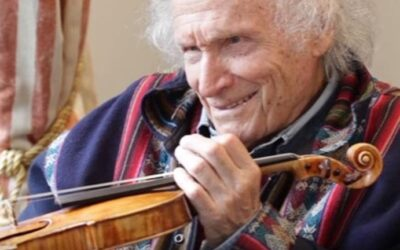 Sad news: Ivry Gitlis has died at the age of 98.