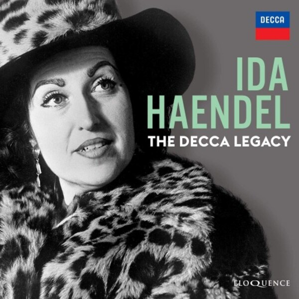 Eloquence presents Ida Haendel: The Decca Legacy.