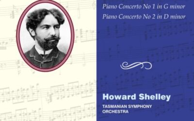 Howard Shelley records Piano Concertos by Stéphan Elmas for Hyperion.