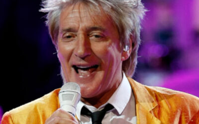 Many Happy Returns to singer-songwriter Sir Rod Stewart, 76 today.
