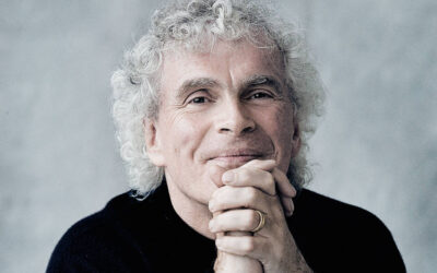 Many Happy Returns to Sir Simon Rattle, 66 today.