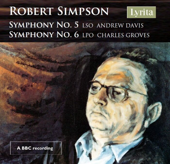 RELEASED TODAY, April 2: For Robert Simpson's centenary on March 2, Lyrita has released his Fifth & Sixth Symphonies in their premiere performances.