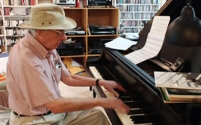 Many Happy Returns to jazz pianist & composer/arranger Dick Hyman, 94 today.