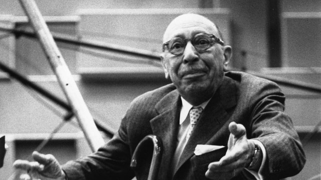 Igor Stravinsky died fifty years ago on this date.