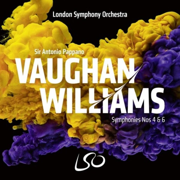 Antonio Pappano records Vaughan Williams's Symphonies 4 & 6 for LSO Live.