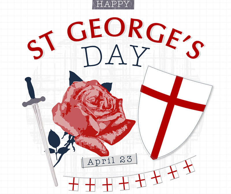 Today is not only St George's Day, it's also the Eightieth Birthday of my friend Mike Langhorne.