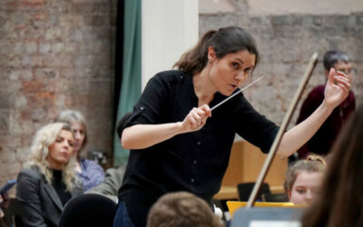 The latest Hallé online concert is now available to view – Delyana Lazarova conducts Bacewicz, Copland and Shostakovich.