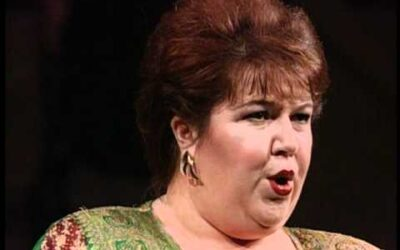 Many Happy Returns to soprano Jane Eaglen, 61 today.
