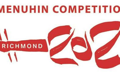Menuhin Competition Richmond 2021 Schedule of Events.
